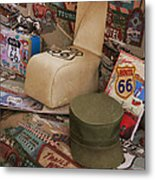 Route 66 Memorablilia Metal Print