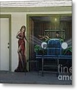 Route 66 Motel Arizona Metal Print
