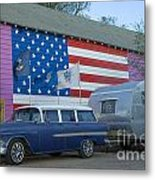 Route 66 Nomad Metal Print