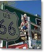 Route 66 Seligman Arizona Metal Print