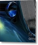 Route 66 Show And Go Metal Print