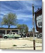 Route 66 Still Open Metal Print