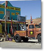 Route 66 The Real Mader Metal Print