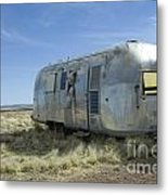 Route 66 Trailer Metal Print