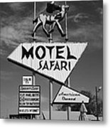 Route 66 - Tucumcari New Mexico Metal Print