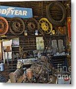 Route 66 Vintage Garage Metal Print