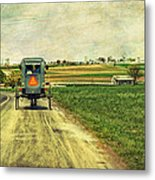 Route 716 Metal Print by Kathy Jennings