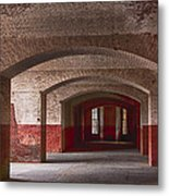 Row Of Arches Metal Print by Garry Gay