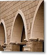 Row Of Arches Metal Print