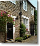 Row Of Cottages. Metal Print