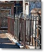 Row Of Tombs St Louis One Cemetery New Orleans Metal Print