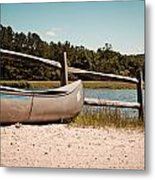 Row Your Boat Metal Print