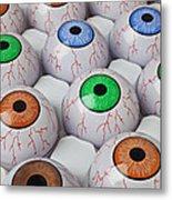 Rows Of Eyeballs Metal Print by Garry Gay