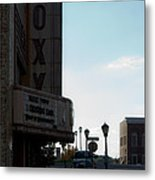 Roxy Regional Theater Metal Print by Ed Gleichman