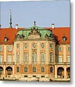 Royal Castle In Warsaw Metal Print