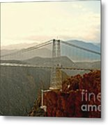 Royal Gorge Bridge Colorado - Take A Walk Across The Sky Metal Print by Christine Till