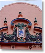 Royal Hawaiian Hotel Entry Facade Metal Print