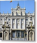 Royal Palace In Madrid Metal Print