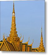 Royal Palace Roof. Metal Print