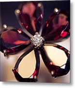 Ruby Ring I. Spirit Of Treasure Metal Print by Jenny Rainbow