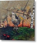 Ruffed Grouse Metal Print