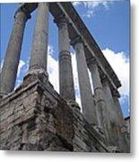 Ruined Columns Metal Print