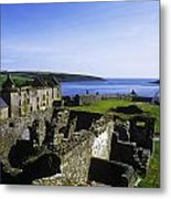 Ruins Of A Fort, Charles Fort, County Metal Print