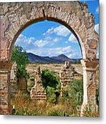 Ruins Of Mineral De Pozos Metal Print