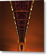 Run Through The Night Metal Print