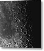 Rupes Recta Ridge And Craters Pitatus Metal Print