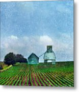 Rural Farm Metal Print