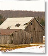 Rural Ontario Farm Metal Print