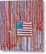 Rural Patriot Metal Print