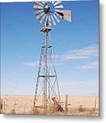 Rural Windmill Metal Print