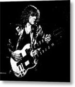 Rushing In Spokane 1978 Sketch Metal Print