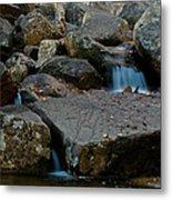 Rushing Water 1 Metal Print