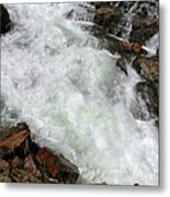Rushing Waters Glen Alpine Creek Metal Print