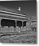 Russell Home - Bw Metal Print