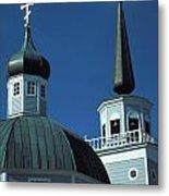 Russian Orthodox Church Metal Print