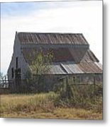 Rusted Barn Metal Print