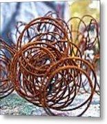 Rusted Spring 1 Metal Print