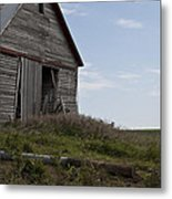 Rustic Barn Still Standing Metal Print by Wilma  Birdwell