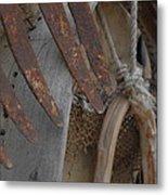 Rustic Decoration Metal Print