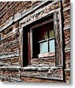Rustic Portal Metal Print