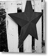 Rustic Star Metal Print