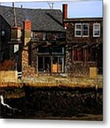 Rustic Waterfront Metal Print