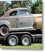 Rusty 1941 Chevrolet . 5d16210 Metal Print