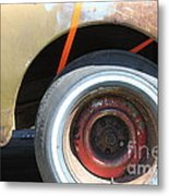 Rusty 1941 Chevrolet . 5d16212 Metal Print by Wingsdomain Art and Photography