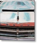 Rusty 1965 Plymouth Satellite . 5d16632 Metal Print by Wingsdomain Art and Photography