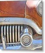 Rusty Abandoned Old Buick Eight Metal Print